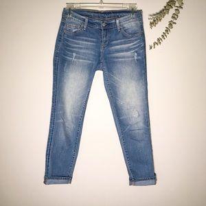 Old Navy Regular SZ 2 Distressed Denim Jeans